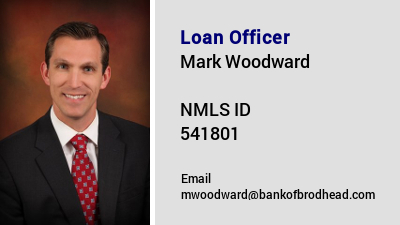 Loan Officer Mark Woodward